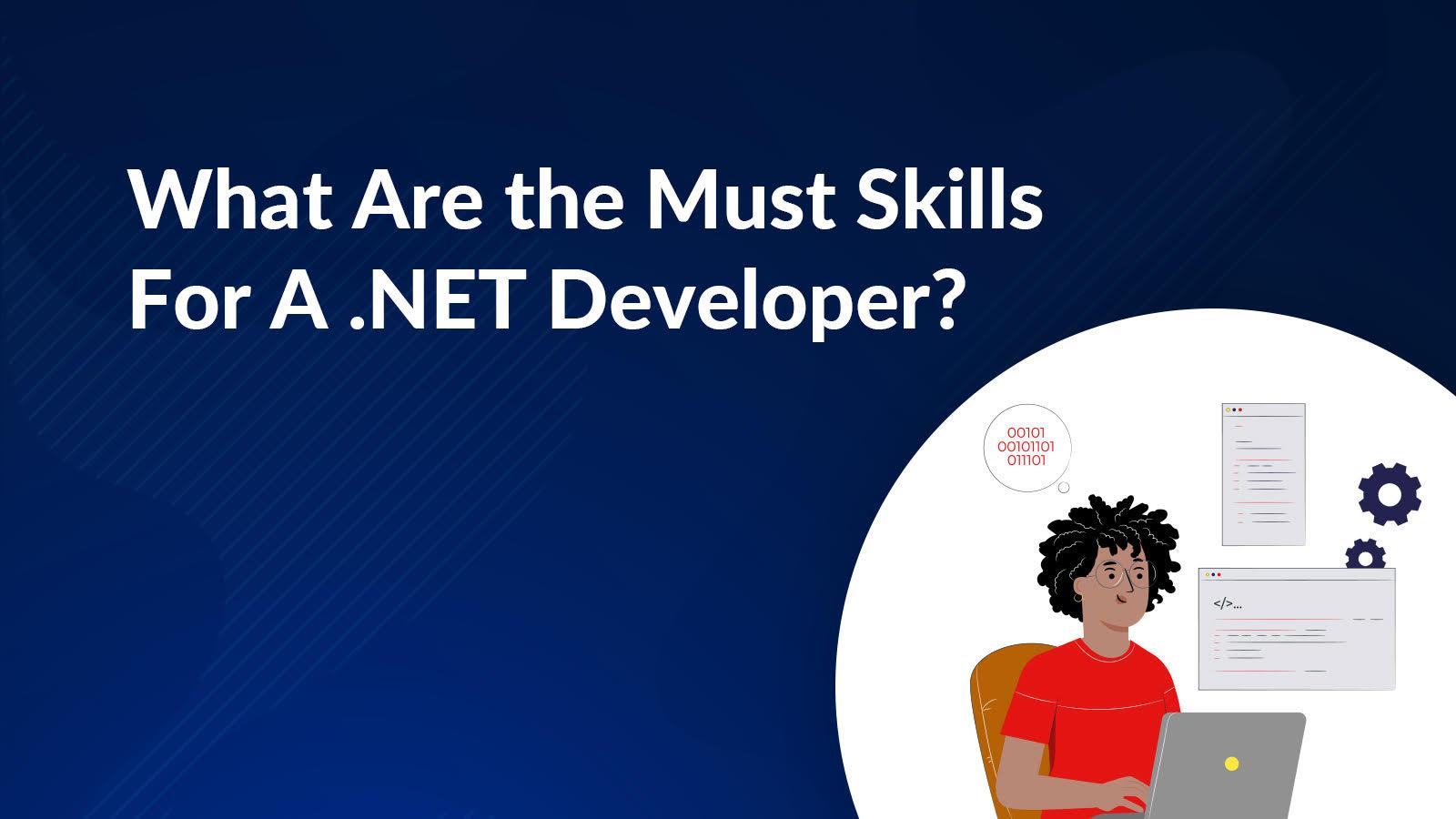 .net developer skills